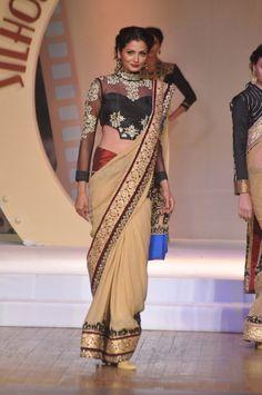 Black & Gold Saree...