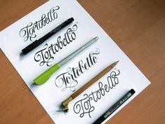 Evgeny Tkhorzhevsky Calligraphy _pens