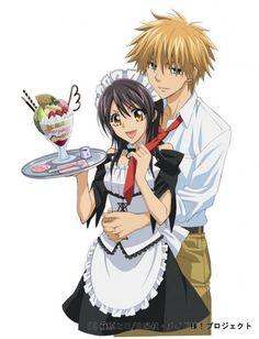Day 1 first anime I watched Kaichou wa Maid Sama yes this the first one I watched and I have been hooked on anime since then!