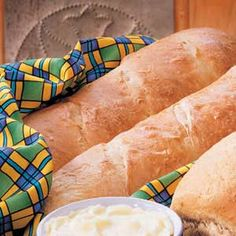 Sourdough French Bread Recipe -Since receiving the recipe for the Sourdough Starter, I've made this French bread countless times. In fact, one year I donated 2 dozen loaves for a benefit dinner! These loaves rival any found in stores and can be made with relative ease.