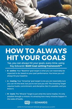 Ray Edwards's Guide to How to Always Hit Your Goals.