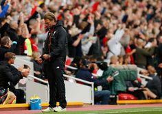 Liverpool manažér Jürgen Klopp oslavuje po tom, čo James Milner strelil svoj druhý gól z pokutového kopu