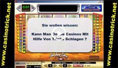 Versuchen Sie diese Website http://www.casinotrick.net/novolinetricks.htm für weitere Informationen auf Novoline Tricks.Diese Novoline Tricks funktionieren besonders bei Book of Ra. Das Spiel, welches das beliebteste Spiel unter den Spielautomaten ist. Es ist klar, dass die wenigsten Tricks nicht klappen können. Aber so ist mal wieder bewiesen, wie in diesem Fall, dass der Mensch der Maschine doch überlegen ist und man diese doch überlisten kann.
