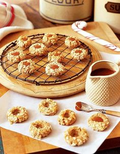 Caramel Thumbprint Cookies    #recipes #cookies #fall