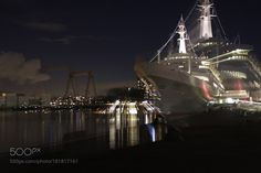 SS Rotterdam. Cruise ship from the late fifties (Holland Amerika lijn).  by hkroon93 with