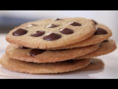 Chocolate Chip Cookies - how to and recipe with Byron Talbot