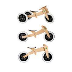Wishbonebike houten 3-in-1 loopfiets Must.Have
