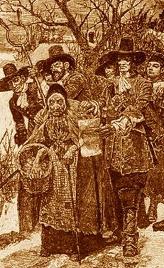 Mary Bliss Parsons, of The Salem Witch Hunt - She fought against the odds and won!!!!