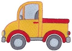 Move It 3 - 2 Sizes! | Trucks | Machine Embroidery Designs | SWAKembroidery.com Bunnycup Embroidery