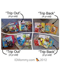 ID Mommy: Holiday Air Travel with Toddlers: Packing Entertainment Items