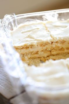 Salted Caramel Ritz Cracker Ice Box Cake is a dreamy, creamy, no-bake, salty sweet icebox cake! Perfect dessert for summer!