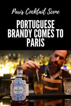 Paris Cocktail Scene on 52 Martinis: Portuguese Brandy Comes to Paris Martinis, Cocktails, Port Wine, Portuguese, Paris France, Scene, Messages, Craft Cocktails, Porto