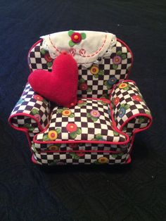 WANT:  Mary Englebreit Pincushion Oversized CHAIR! http://www.ebay.com/itm/Mary-Engelbreit-Floral-Arm-Chair-Pin-Cushion-or-Doll-House-Furniture-No-Reserve-/221577942508?pt=LH_DefaultDomain_0