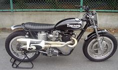 Custom motorcycles by Bratstyle Triumph 650