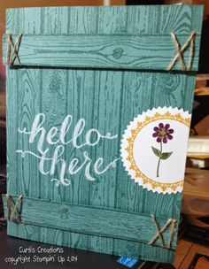 Stampin' Up! Hello There - Pomp and Sustenance: New Catalog Goes Live Today Blog Hop