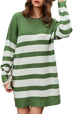 Amazon Prime Day Deals, Pullover Sweaters, Crew Neck, Knitting, Long Sleeve, Color, Dresses, Fashion, Vestidos
