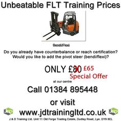 Add pivot steer to your forklift certificates only 65 at http://ift.tt/1HvuLik #jobsearch #forklift #training