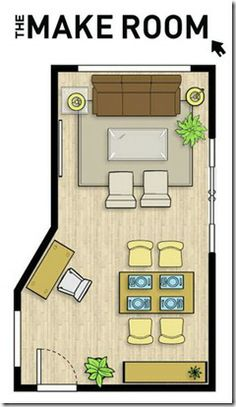 Plan A Space // Furniture Templates // Use the Office Room Layout ...