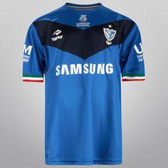 ddecab59b Camiseta Topper Vélez Sarsfield Alternativa 2014 Infantil - Azul-Francia+ Azul-Marino