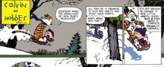 Calvin and Hobbes / New Year's Resolutions