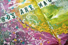 collage monday journal  http://www.donnadowney.com/