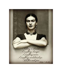 Frida Kahlo Quote Photomontage Art Print Original Signed Mixed Media Collage…