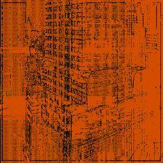 "Saatchi Art Artist: Zoran Tosic - Tosha; Screenprinting 2013 Printmaking ""Chrysler Building"""