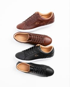 Lacoste Larond Casual Sneakers, Lacoste, Polo Shirt, Vans, Shoes, Casual Trainers, Polos, Zapatos, Shoes Outlet