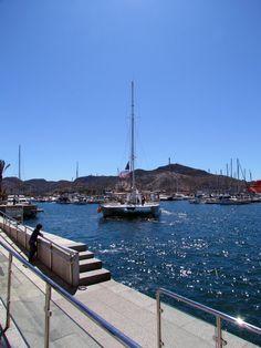 Puerto de Cartagena. (Spain)