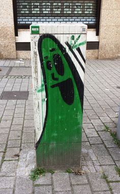 Grünling irgendwo in #FrankfurtAmMain #cityghost #Spot