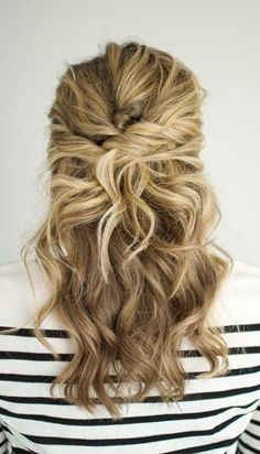 Formal Hairstyles for Medium Hair Down