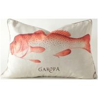 Pink Spotted Grouper Pillow