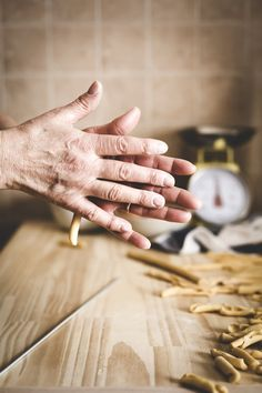 How to make fresh Italian pasta at home - Italian Food - Italian recipe - food photography
