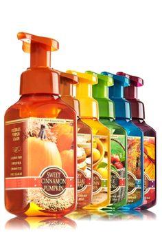 We+Love+Fall+Gentle+Foaming+Hand+Soap+Bundle+-+Soap/Sanitizer+-+Bath+&+Body+Works