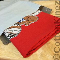 Cotton Kingz French Wade t-shirt. Character Edition