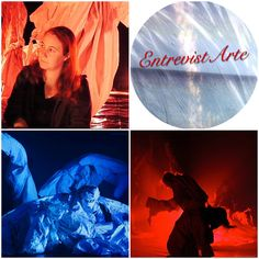 La genial artista de LRM Performance. Berta Delgado en #EntrevistArte.  http://impressionsdumonde.wordpress.com/2014/03/10/berta-delgado/