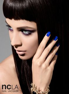 Our Venice Beach Vixen Electric Blue Nail Lacquer! This blue is electrifying!