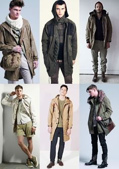 Beating The Rain In Style with The Parka Lookbook Inspiration