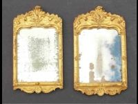 Zwei fast identische Rokoko-Spiegel,weitere Bilder unter: www.jkoessler.de