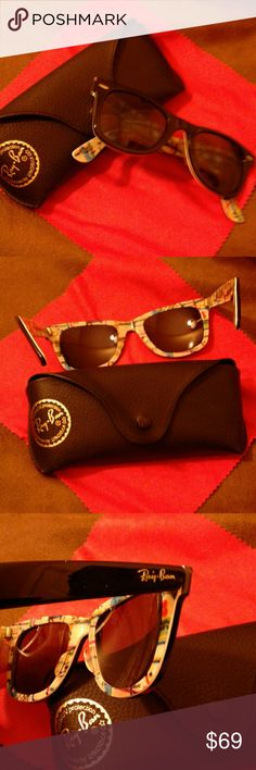 Ray - Ban Prescription Sunglasses Just needs your prescription lenses. Special Series #2. Includes Ray-Ban case and silk lense cloth. Ray-Ban Accessories Sunglasses