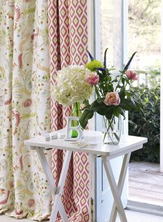Daydreamer and Poetic, from the Silva Prints Collection. #Fabrics #Prints #InteriorDesign