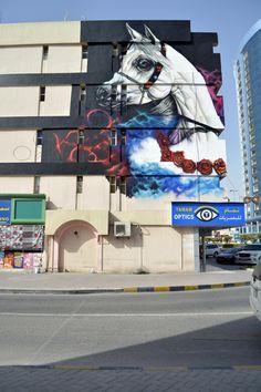 Ramy El Zaghawy for Ajman Murals in UAE
