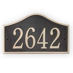 Custom Address Plaques   House Address Signs