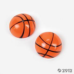Basketball Poppers from Oriental Trading Co. #YoYoBirthday