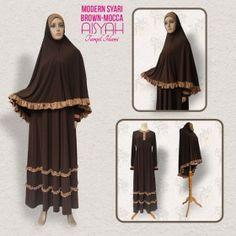 Busana Muslim - Modern Syari Brown