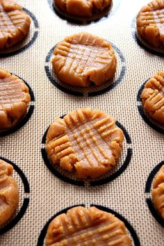 Flourless Peanut Butter Cookies - a classic cookie made from just 3 ingredients! Beloved by everyone!