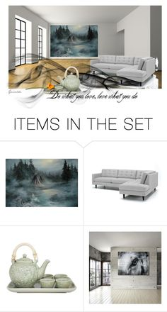 """Do what you love..."" by artspirit ❤ liked on Polyvore featuring art"