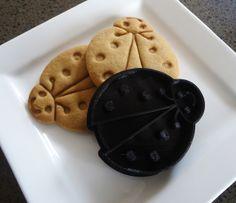 3D Printed Lady Bug Cookie Cutter   Felt