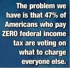 If you pay NO taxes...you should have NO vote!!!!!