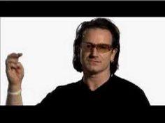 Make Poverty History - Bono